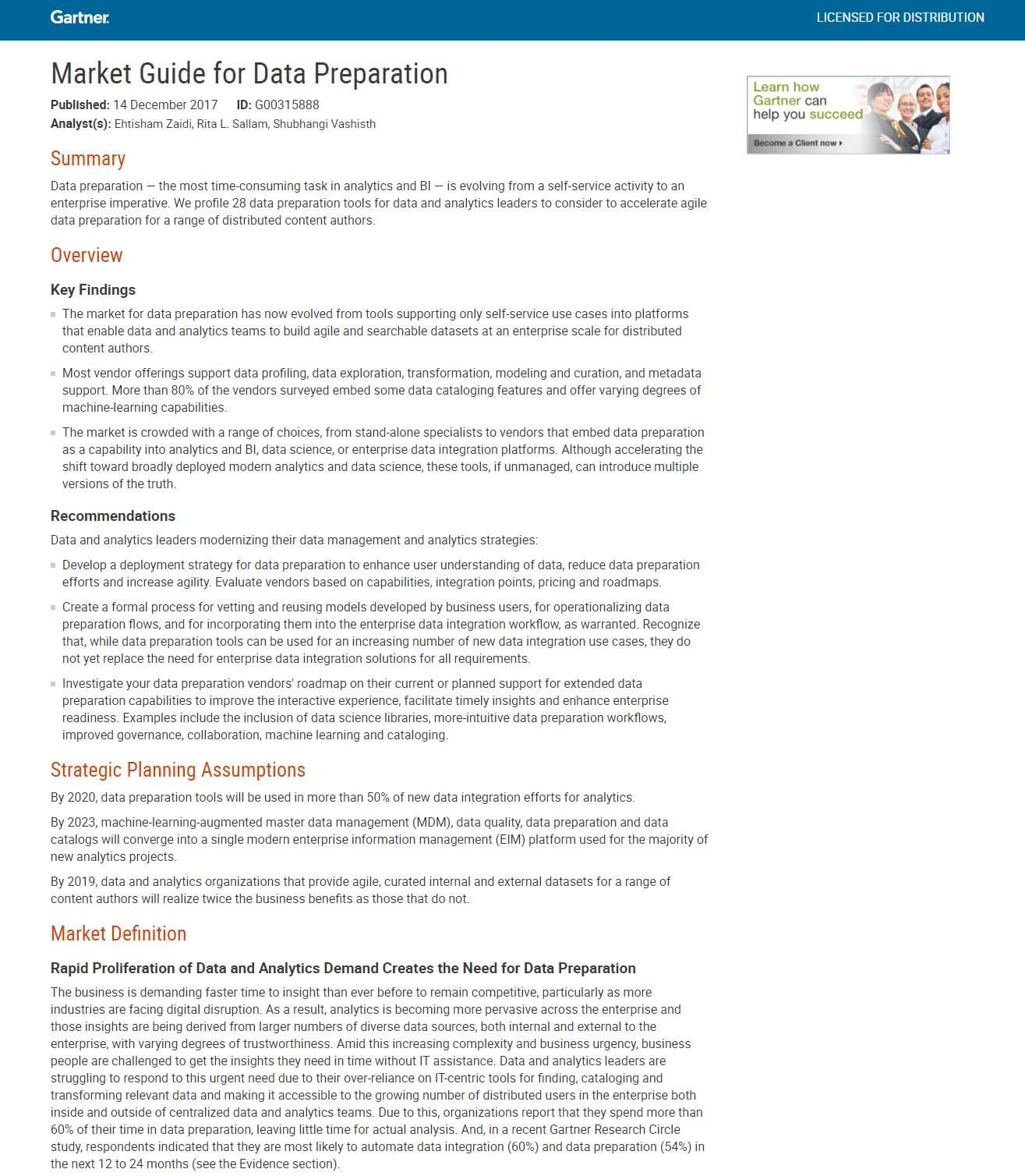 gartner research report This trusted analyst report by gartner evaluates a variety of enterprise lan vendors providing converged access layer connectivity gartner positions vendors in.